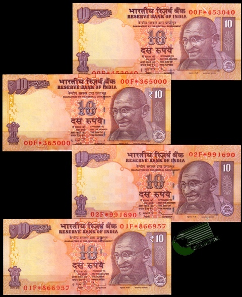 Bank Notes & Currency Indian & Foreign