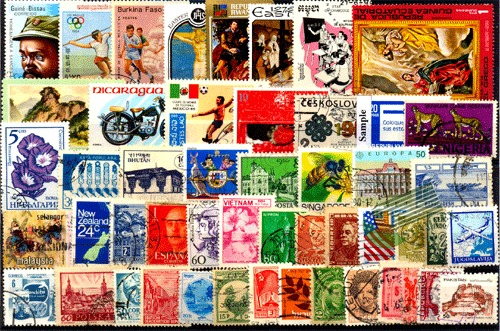 Foreign Stamps World Wide Packets