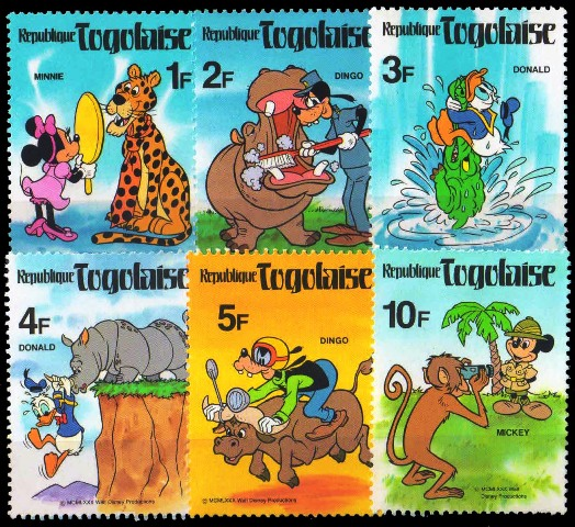 Disney, Cartoon World of Postage Stamps