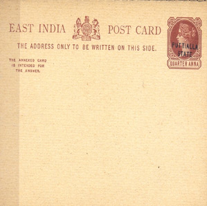 INDIAN STATES STATIONARY POST CARDS & ENVELOPES